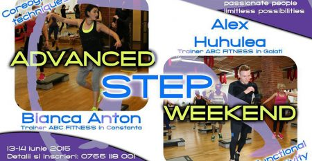 advanced step weekend