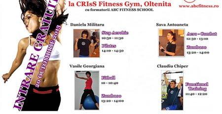 aerobic day la criss fit oltenita