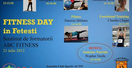 fitness day in fetesti