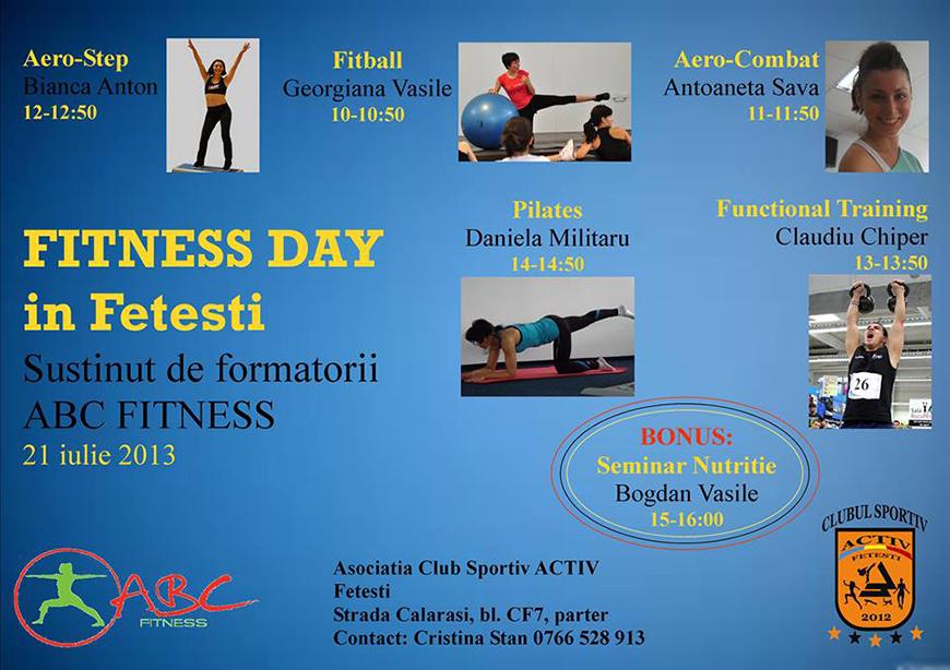 fitness day in fetesti