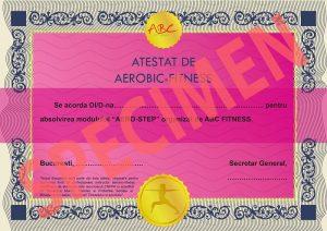 specimen diploma aero-step