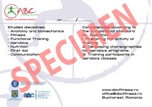 specimen diploma interna aerobic-fitness verso