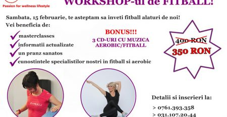 workshop fitball 15 februarie 2014
