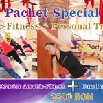 pachet curs instructor aerobic fitness si personal trainer