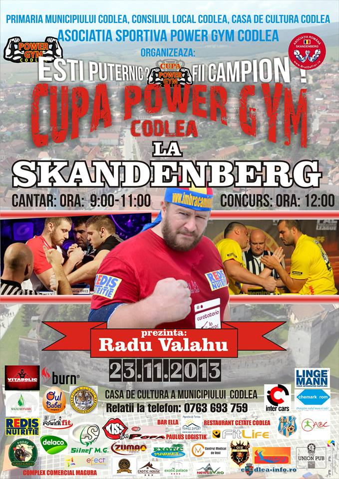 cupa power gym Skandenberg
