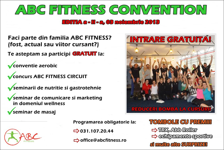 abc fitness convention editia 2