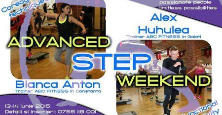 advanced step weekend