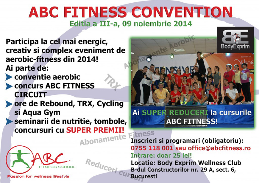 abc fitness convention 3rd edition