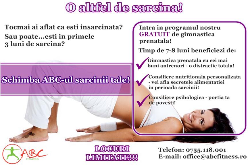 O altfel de sarcina - ABC Fitness