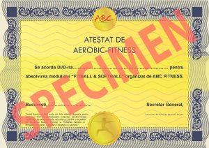 specimen diploma fitball & softball