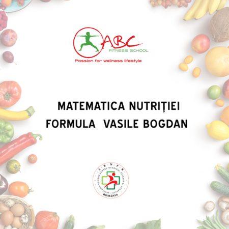 Matematica nutriției – Formula Vasile Bogdan