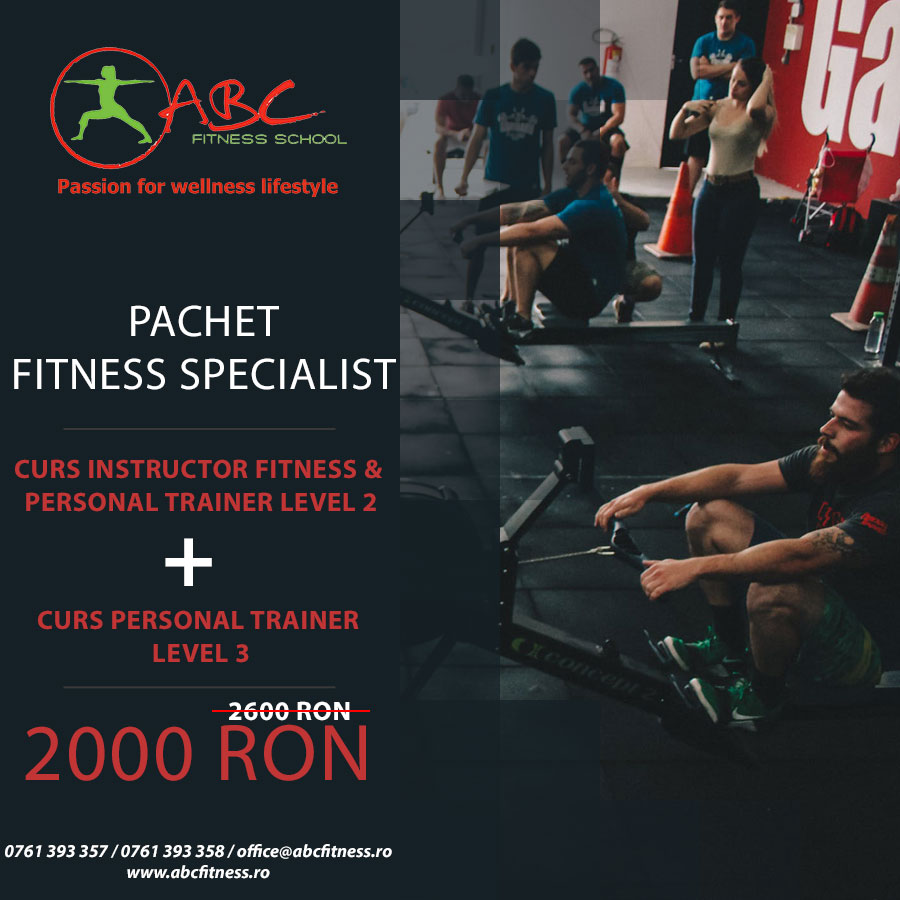 pachet fitness specialist