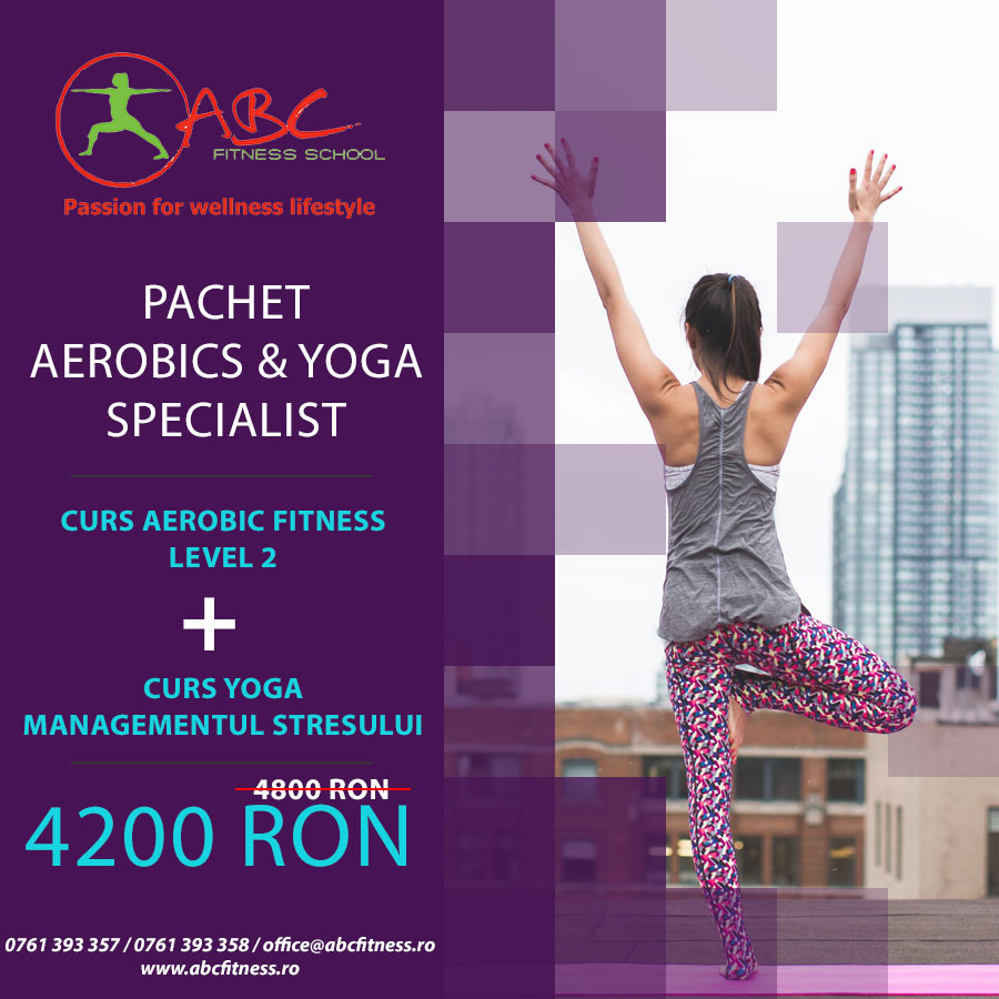 aerobics and yoga specialist