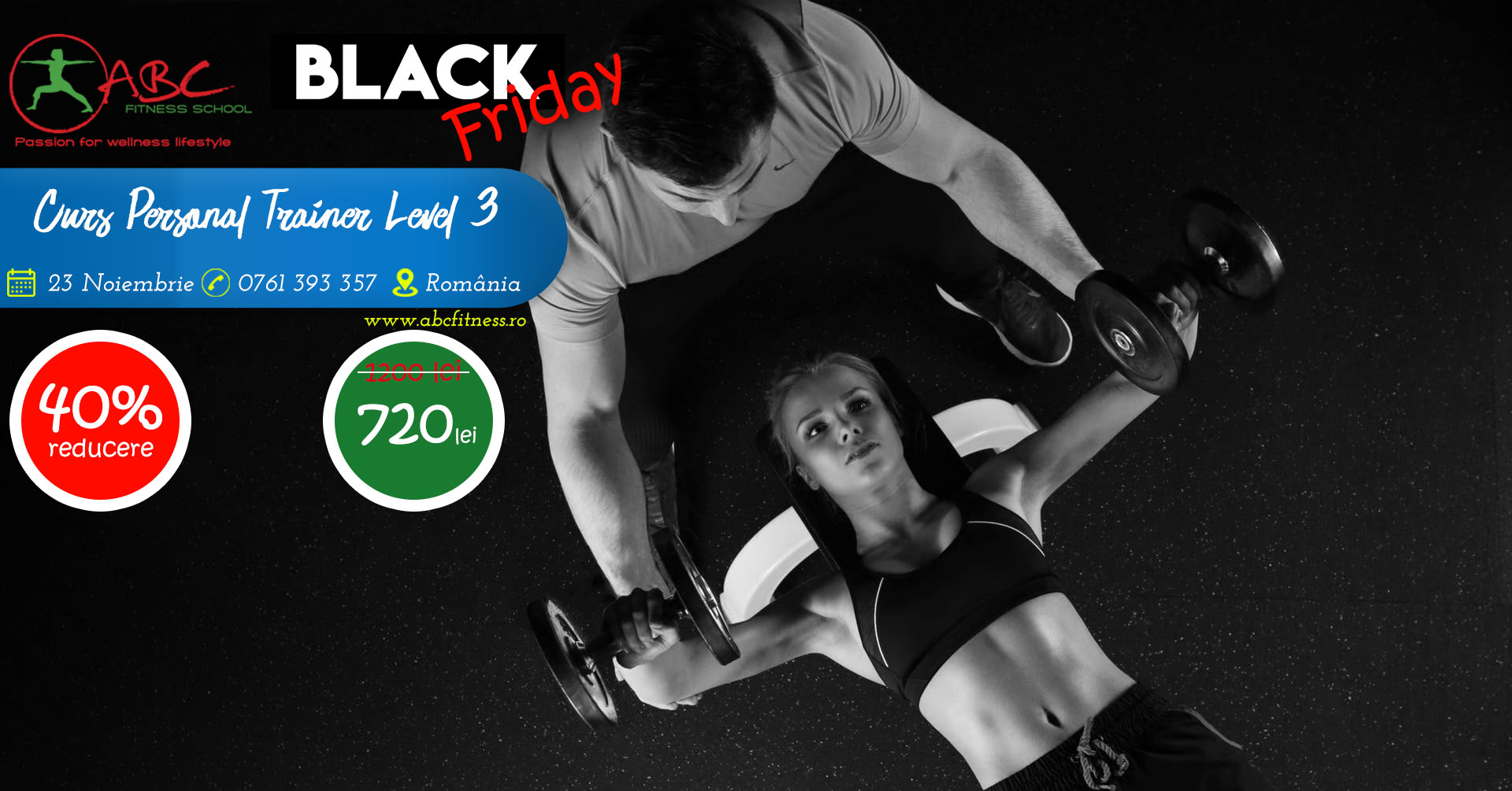 curs personal trainer - blackfriday